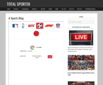 Upcoming Matches Totalsportek Com At Statscrop Total sportek update the fastest and fullest sport events including soccer streams schedule on tv channel. upcoming matches totalsportek com at