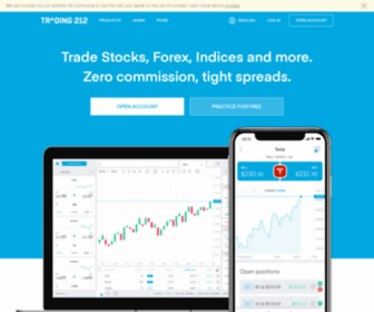 Trading212.com - FOREX trading – Currencies, Gold, Oil, Stocks - Trading 212