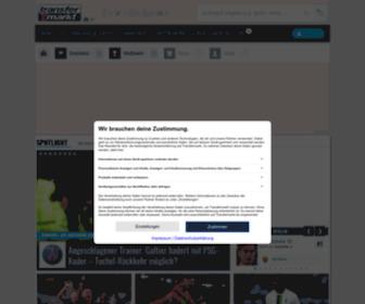 Transfermarkt.de - Fußball-Transfers, Gerüchte, Marktwerte und News | Transfermarkt