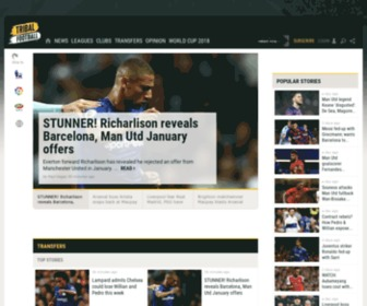Tribalfootball.com - Football & Soccer News, Transfers, Rumours, Video & more - Tribal Football
