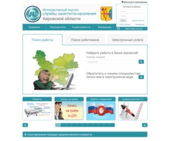 Trudkirov.ru - Интерактивный портал службы занятости населения Кировской области