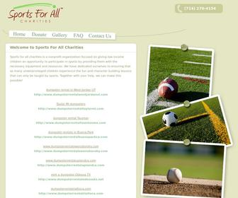 Ttd8888.com - Sports For All Charities