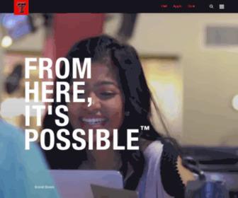 Ttu.edu - Texas Tech University | TTU