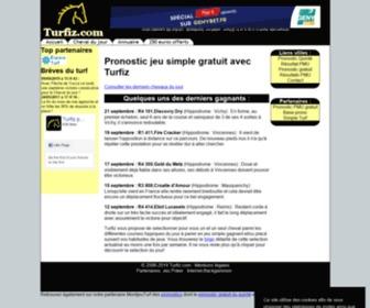 Turfiz.com - Turfiz, turf pronostic hippique gratuit