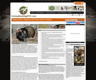 Turkeyhunting247.com - Turkey Hunting  - Turkey Calls - Turkey Hunting 247