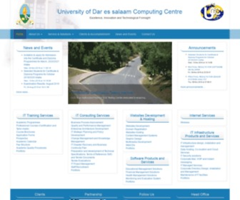 Ucc.co.tz - University of Dar es salaam Computing Center | Professionalism, Customer Care and Technological Foresight
