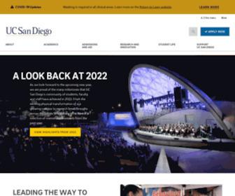 Ucsd.edu - University of California San Diego