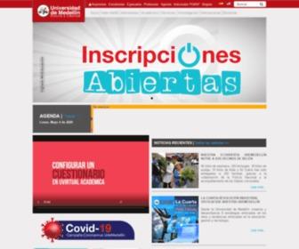 Udem.edu.co - Universidad de Medellín - Inicio