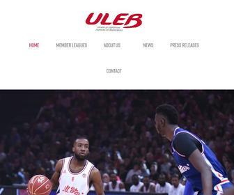 Uleb.com - ULEB UNION OF EUROPEAN LEAGUES OF BASKETBALL
