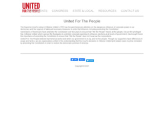 United4thepeople.org - United For the People