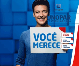 Unoparvirtual.com.br - UNOPAR EaD - Líder em Educação a Distância no Brasil.