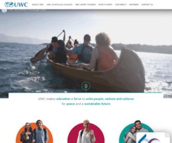 Uwc.org - UWC - Home
