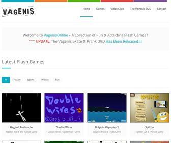 Vagenisonline.com - Vagenis Flash Games - Physics, Puzzles & More! | PLAY FREE