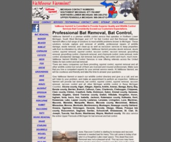 Vamoosevarmint.com - Michigan Bat Control and bat removal