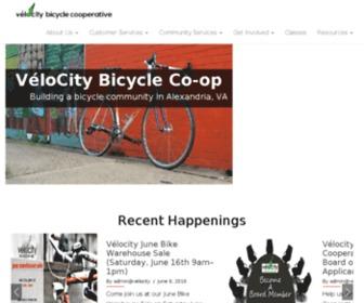 Velocitycoop.org - VéloCity Bicycle Cooperative