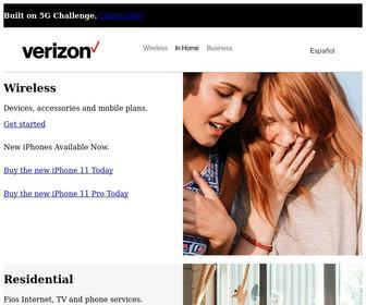 Verizon.com - Verizon Fios & Custom TV | Internet, Cable & Phone