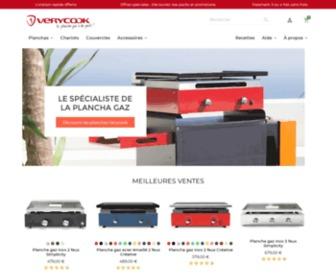 Verycook.com - Boutique officielle Verycook : achetez la plancha gaz en ligne - Verycook
