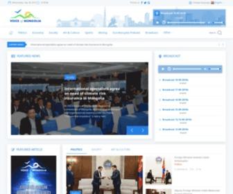 Vom.mn - Монголын үндэсний олон нийтийн радио телевиз