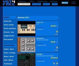 Vst4free.com - VST 4 FREE - Free Audio Plug-ins Archives