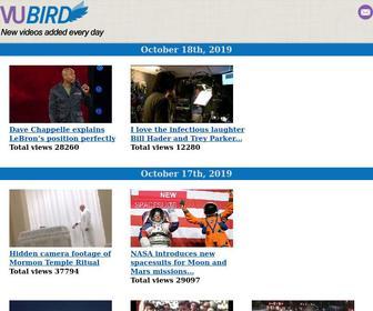 Vubird.com - VUBIRD - The best videos from around the web. New videos added every day.
