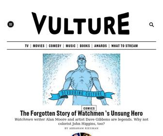 Vulture.com - Vulture - Entertainment News - Celebrity News, TV Recaps, Movies, Music, Art, Books, Theater