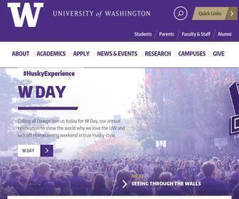 Washington.edu - UW Homepage