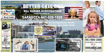 Wbipi.com - SARASOTA PRIVATE INVESTIGATOR BILL WARNER BETTER CALL BILL SARASOTA