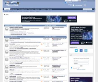 Webhostingtalk.com - Web Hosting Talk - The largest, most influential web hosting community on the Internet