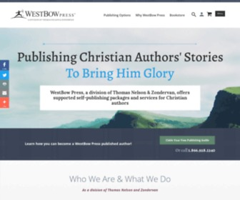 Westbowpress.com - WestBow Press | Christian Self-Publishing