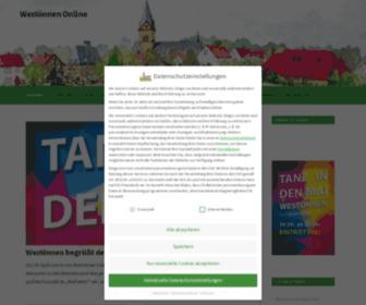 Westoennen.de - Fehler 403 - Zugriff nicht gestattet
