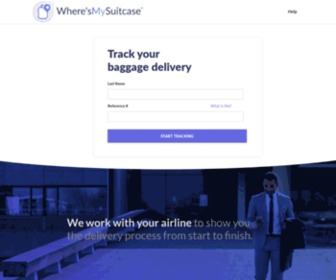Wheresmysuitcase.com - Please Select Your Airline