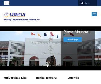 Widyatama.ac.id - Home - Universitas Widyatama