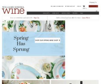 Williams-sonomawineclub.com - Home Page | Williams-Sonoma Wine