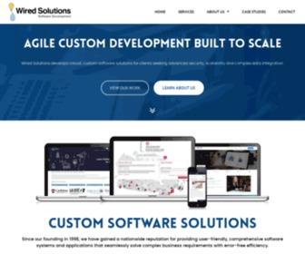 Wiredsolutions.ca - Windsor Web Developer | Custom Web Programming | Custom Programming in Windsor, Ontario