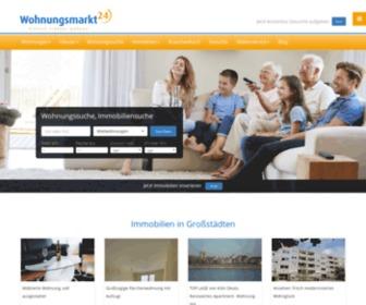 Wohnungsmarkt24.de - Wohnungen und Häuser mieten, kaufen und verkaufen