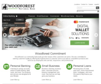 Woodforrestbank.Com