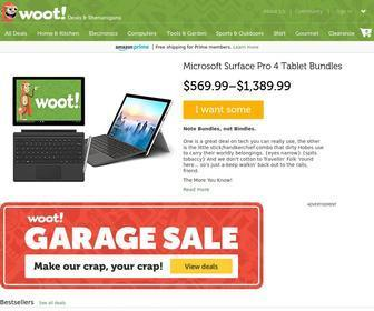 Woot.com - Woot: Daily Deals for Electronics, Computers, Home, Tools, Garden, Sport, Accessories, Kids, Shirt, Wine, & more