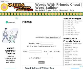 Wordswithfriendscheat.org - Words With Friends Cheat | Word Builder | Word Maker | Solver | Words With Friends Generator | Anagrammer | Words With Friends Help | Words With Friends Dictionary