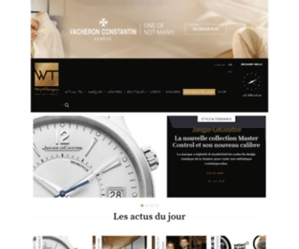 Worldtempus.com - WorldTempus | The online reference for Swiss watchmaking news