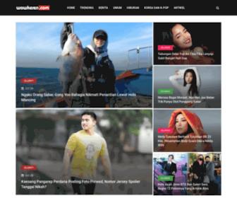 Wowkeren.com - WowKeren.com - Situs Hiburan Terkeren di Indonesia - Ikuti berita terbaru dari selebriti, film, musik, olahraga, bola, teknologi, kesehatan dan berita lainnya setiap hari!