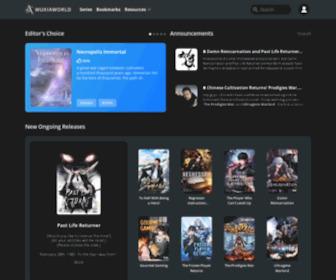 Wuxiaworld.com - Wuxiaworld – Chinese fantasy novels and light novels!