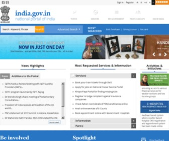 Www.gov.in - National Portal of India