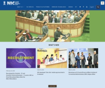 Nic.in - Home | National Informatics Centre