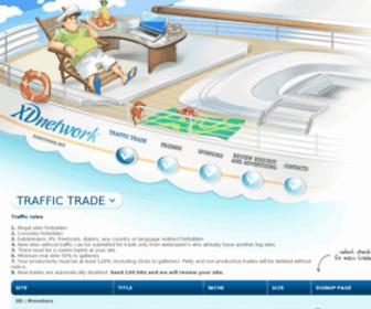 Xdnetwork.net - xD Network :: traffic trade