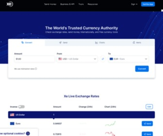 Xe.com - XE - The World's Trusted Currency Authority