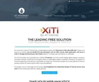 Xiti.com - Web traffic measurement solution XiTi | AT Internet