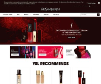 Yslbeauty.co.uk - YSL Beauty, make up, perfume, skin care, official online boutique for Yves Saint Laurent