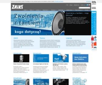 Zaiks.org.pl - Stowarzyszenie Autorów ZAiKS