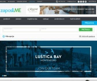 Zaposli.me - Zaposli.me:Najbolja platforma za zapošljavanje u Crnoj Gori