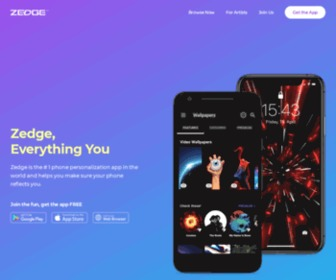 Zedge.net - Free ringtones, wallpapers and backgrounds for your cell phone   Zedge